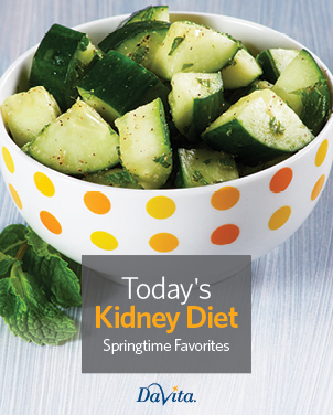Today's Kidney Diet - Springtime Favorites